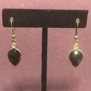 Small blingy black earrings.  3/$12 Sale